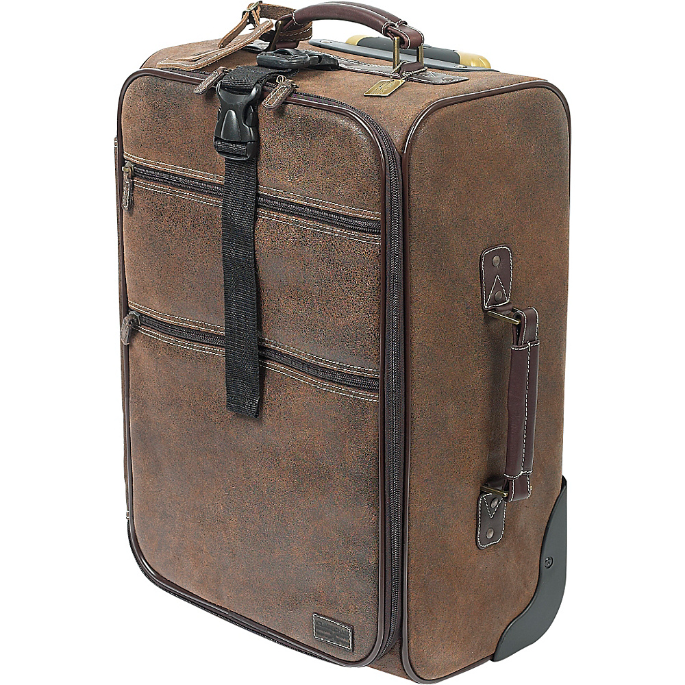 ClaireChase Classic 22 Pullman - Distressed Brown - Luggage, Softside Carry-On