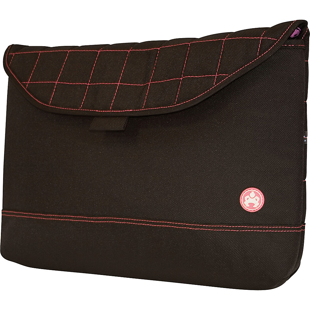 Sumo Nylon Sleeve for 17 MacBook Pro Black Pink
