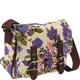 Rose Satchel Purple