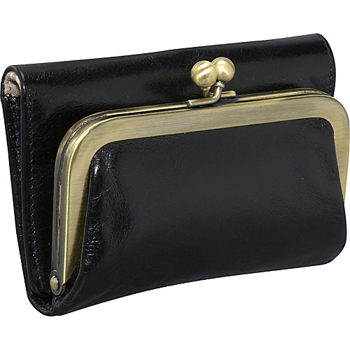 Hobo Robin Wallet Black - Hobo Ladies Small Wallets