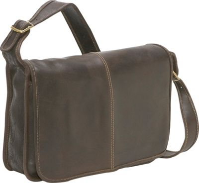 le donne leather distressed leather messenger bag ebagscom