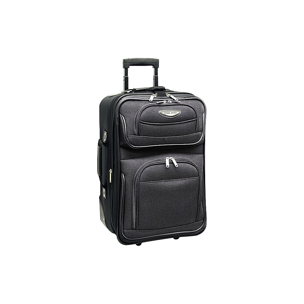 Travelers Choice Amsterdam 21 in. Expandable Carry-on - Luggage, Softside Carry-On