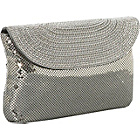 Buy Whiting and Davis Chain Flap Clutch by Whiting and Davis