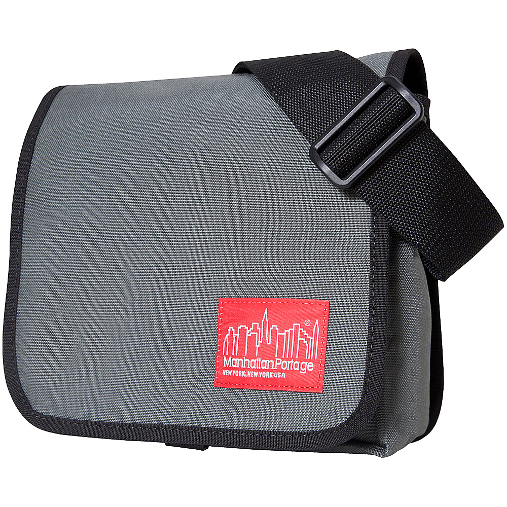 Manhattan Portage DJ Bag (X-Small) - Gray - Work Bags & Briefcases, Messenger Bags