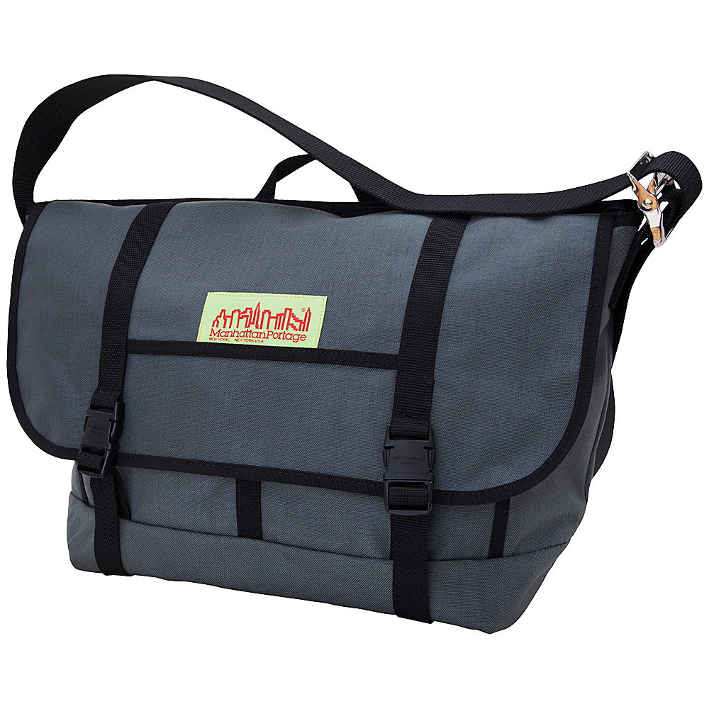 Manhattan Portage NY Bike Messenger Bag - Gray - Work Bags & Briefcases, Messenger Bags