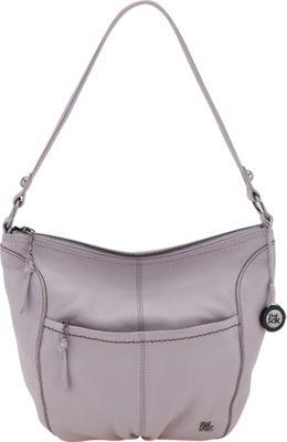 The Sak Iris Large Hobo Shoulder Bag Lilac - The Sak Leather Handbags