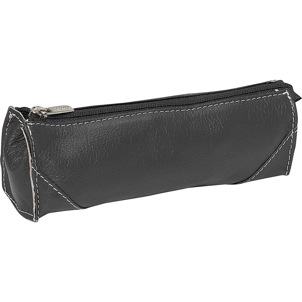 Piel Brush Pencil Bag Black - Piel Toiletry Kits - Travel Accessories, Toiletry Kits