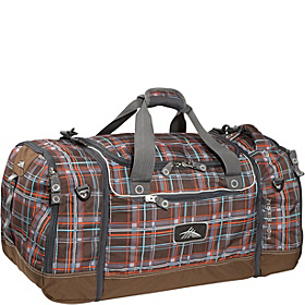 4-in-1 Cargo Duffel Mountain Plaid, Espresso