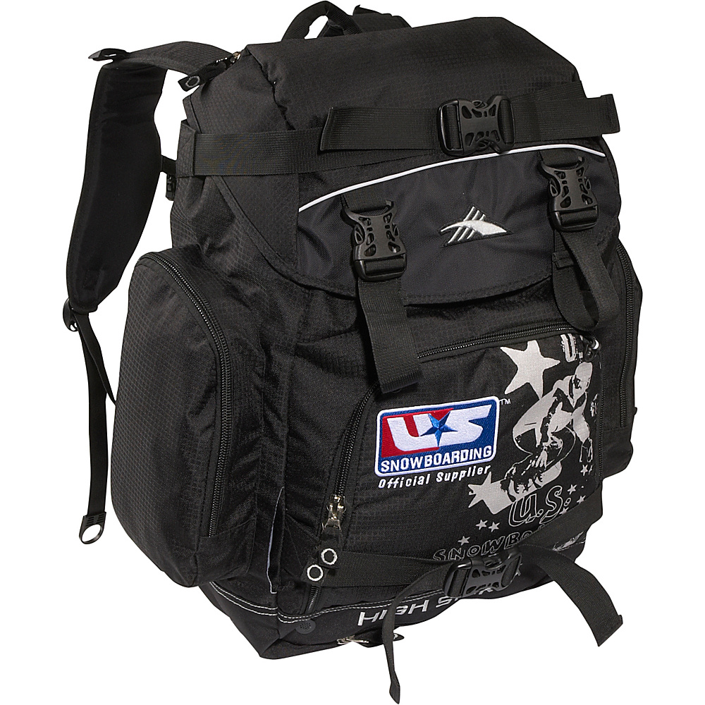 High Sierra U.S. Snowboard Team Backpack Black