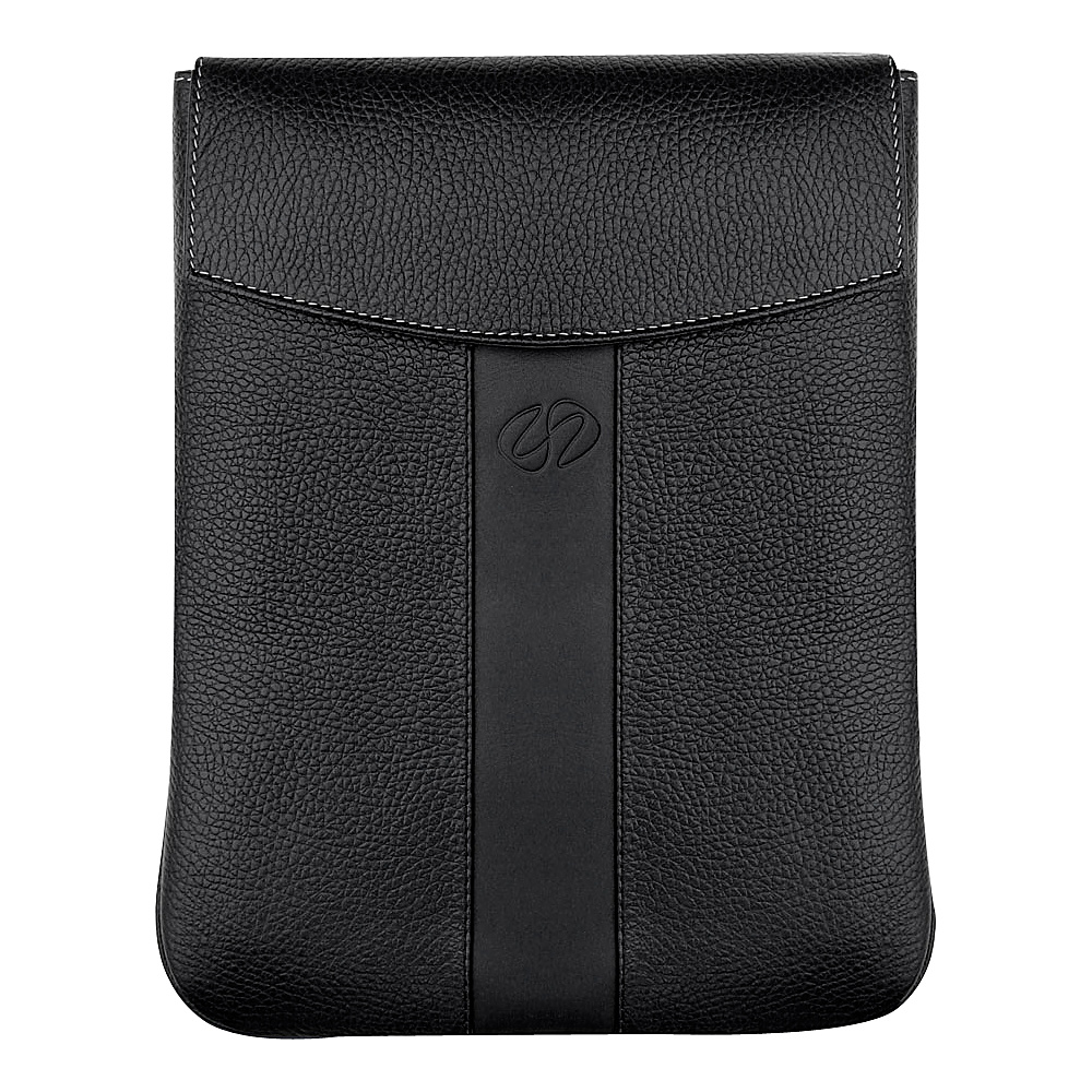 MacCase Leather Vertical Sleeve for iPad Black