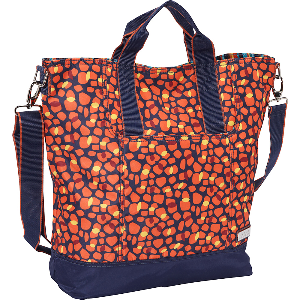 Hadaki French Tote Arabesque Pebbles Hadaki Manmade Handbags