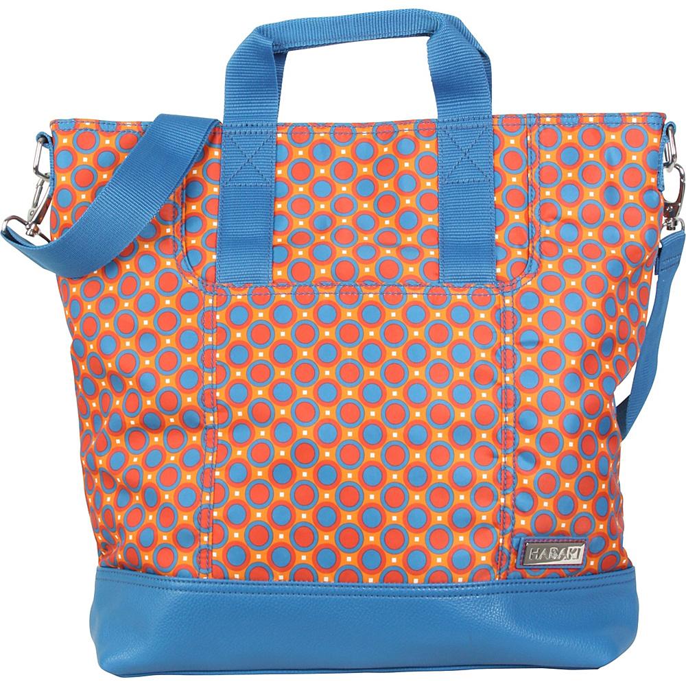 Hadaki French Tote Cassandra Dots - Hadaki Manmade Handbags - Handbags, Manmade Handbags