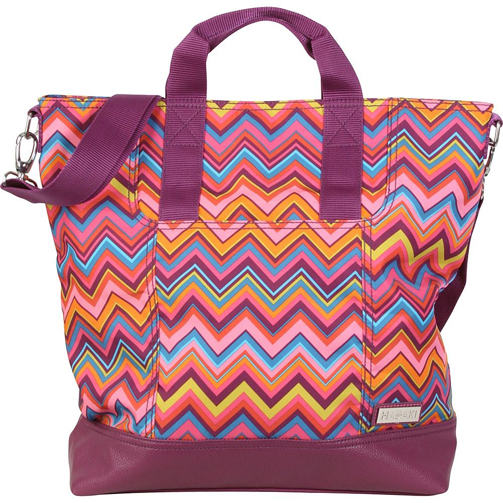 Hadaki French Tote Cassandra ZigZag - Hadaki Manmade Handbags - Handbags, Manmade Handbags
