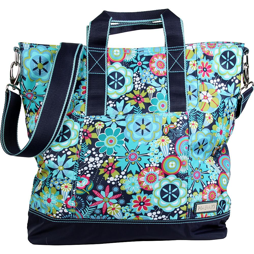 Hadaki French Tote Dixie Daisies - Hadaki Manmade Handbags - Handbags, Manmade Handbags