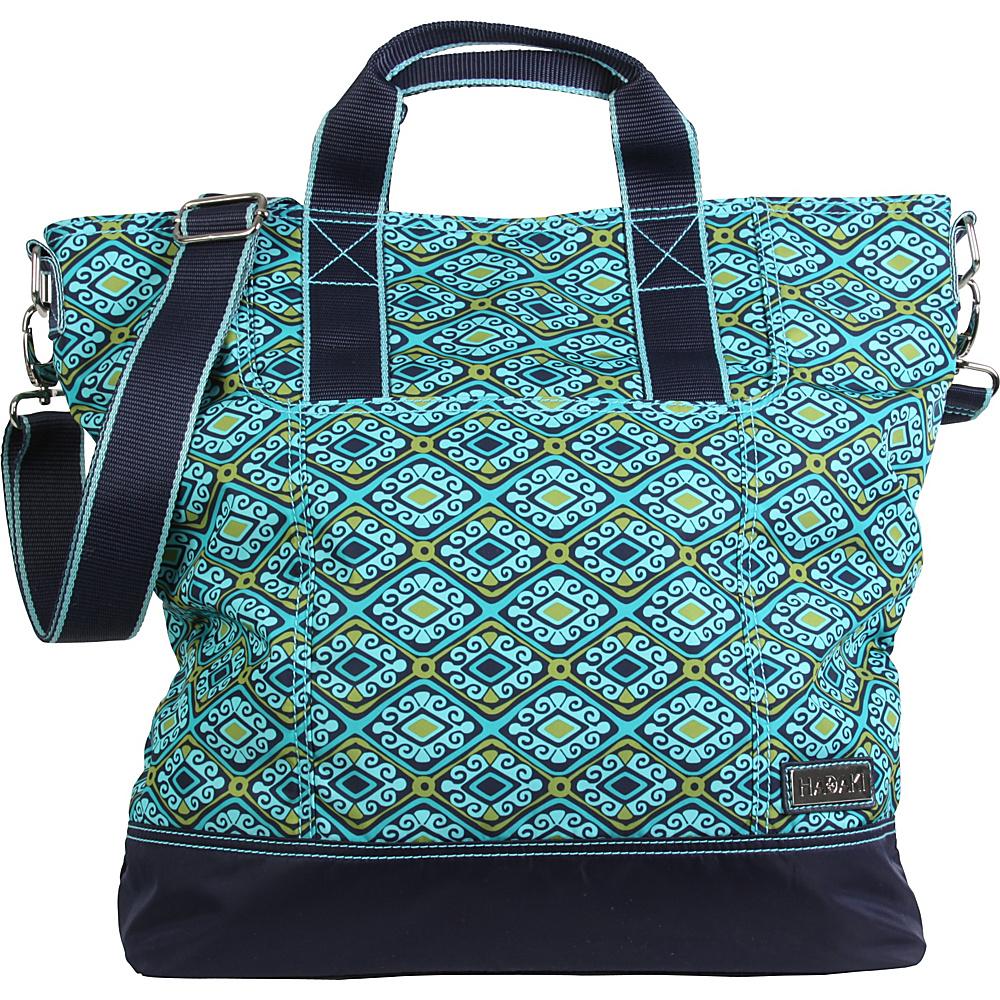 Hadaki French Tote Dixie Diamonds - Hadaki Manmade Handbags - Handbags, Manmade Handbags