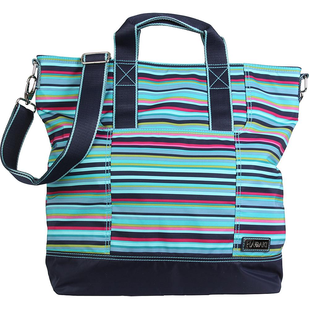Hadaki French Tote Dixie Stripes - Hadaki Manmade Handbags - Handbags, Manmade Handbags