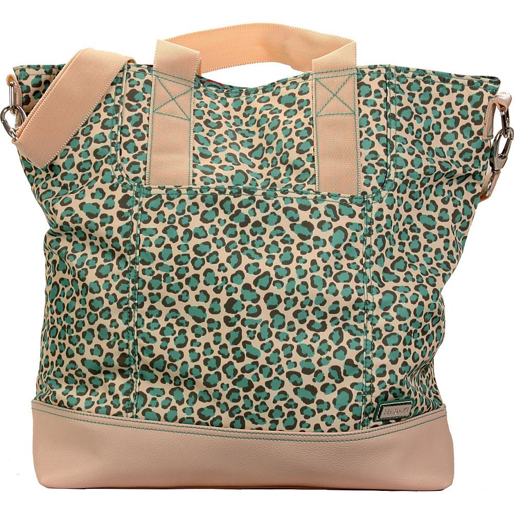 Hadaki French Tote Primavera Cheetah - Hadaki Manmade Handbags - Handbags, Manmade Handbags