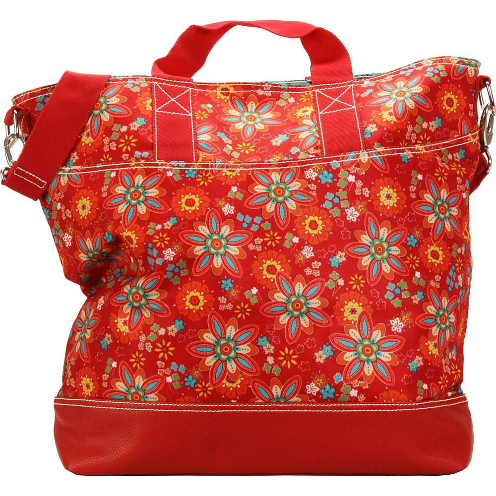 Hadaki French Tote Primavera Floral - Hadaki Manmade Handbags - Handbags, Manmade Handbags
