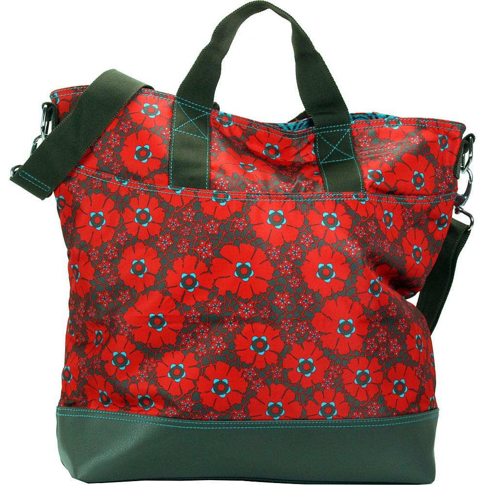 Hadaki French Tote Primavera Lacey - Hadaki Manmade Handbags - Handbags, Manmade Handbags