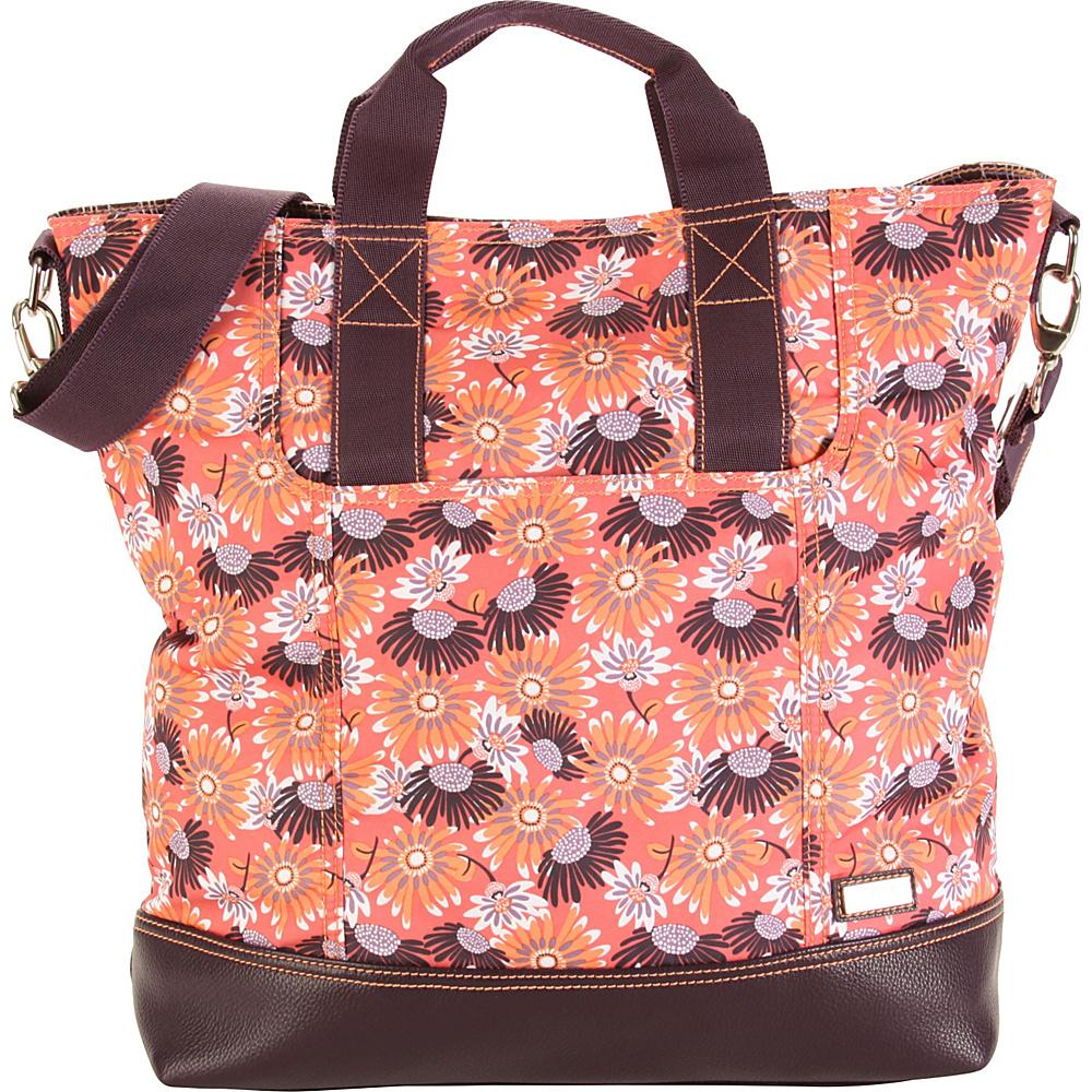 Hadaki French Tote Daisies - Hadaki Manmade Handbags - Handbags, Manmade Handbags