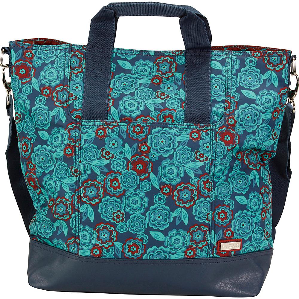 Hadaki French Tote Floral - Hadaki Manmade Handbags - Handbags, Manmade Handbags