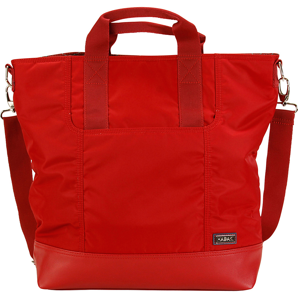 Hadaki French Tote Rhubarb - Hadaki Manmade Handbags - Handbags, Manmade Handbags