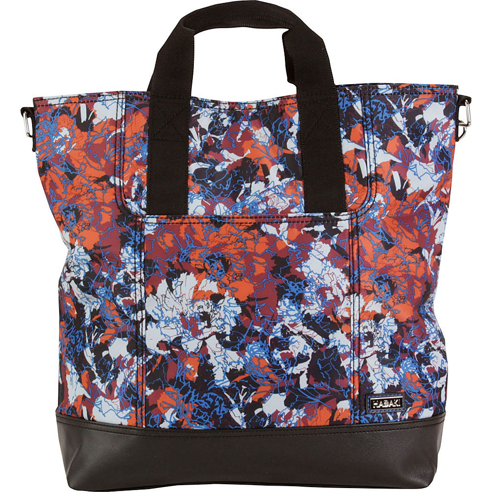 Hadaki French Tote Watercolors - Hadaki Manmade Handbags - Handbags, Manmade Handbags
