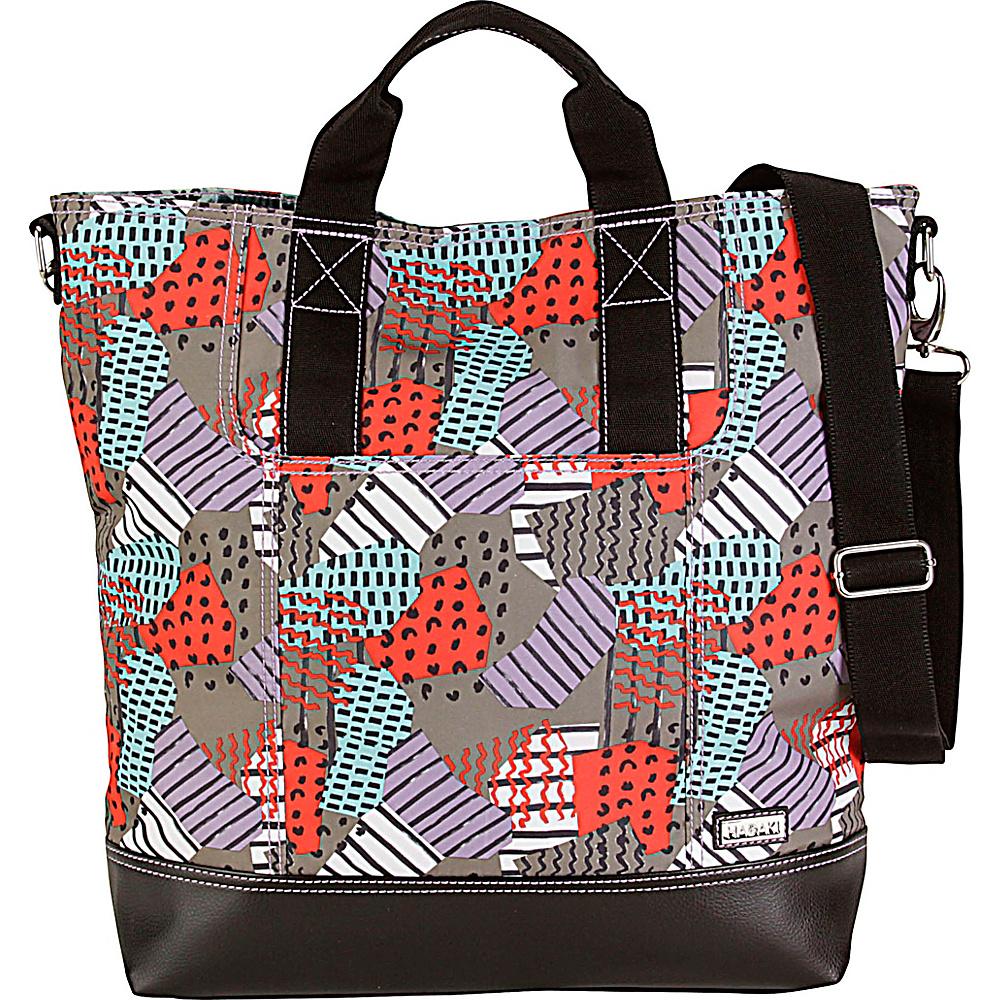 Hadaki French Tote Color Block - Hadaki Manmade Handbags - Handbags, Manmade Handbags