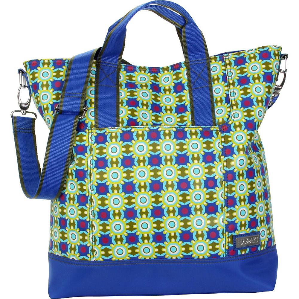 Hadaki French Tote - Cobalt Stars - Handbags, Manmade Handbags