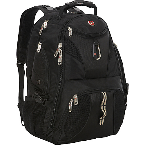 SwissGear Travel Gear ScanSmart Backpack - Black