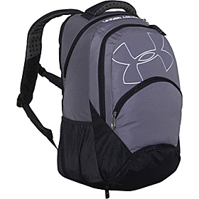 UA Protego Backpack Graphite / Black / White / White