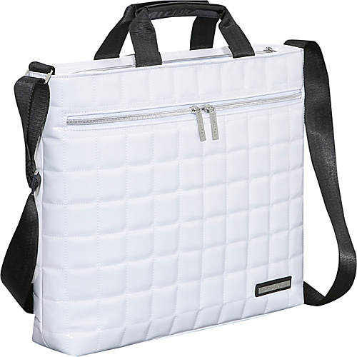 Earth Axxessories Quilted RPET Laptop Shoulder Bag
