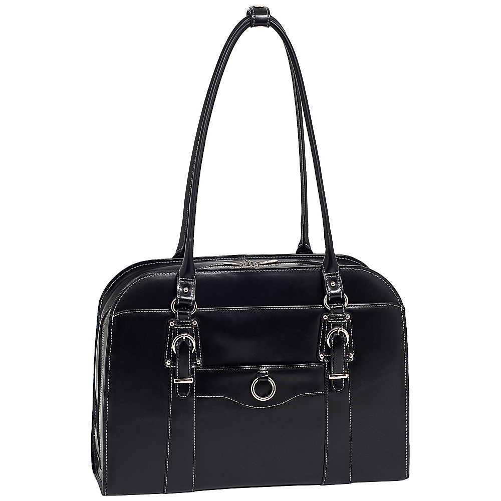 McKlein USA W Series Hillside Laptop Tote - Black - Work Bags & Briefcases, Women's Business Bags