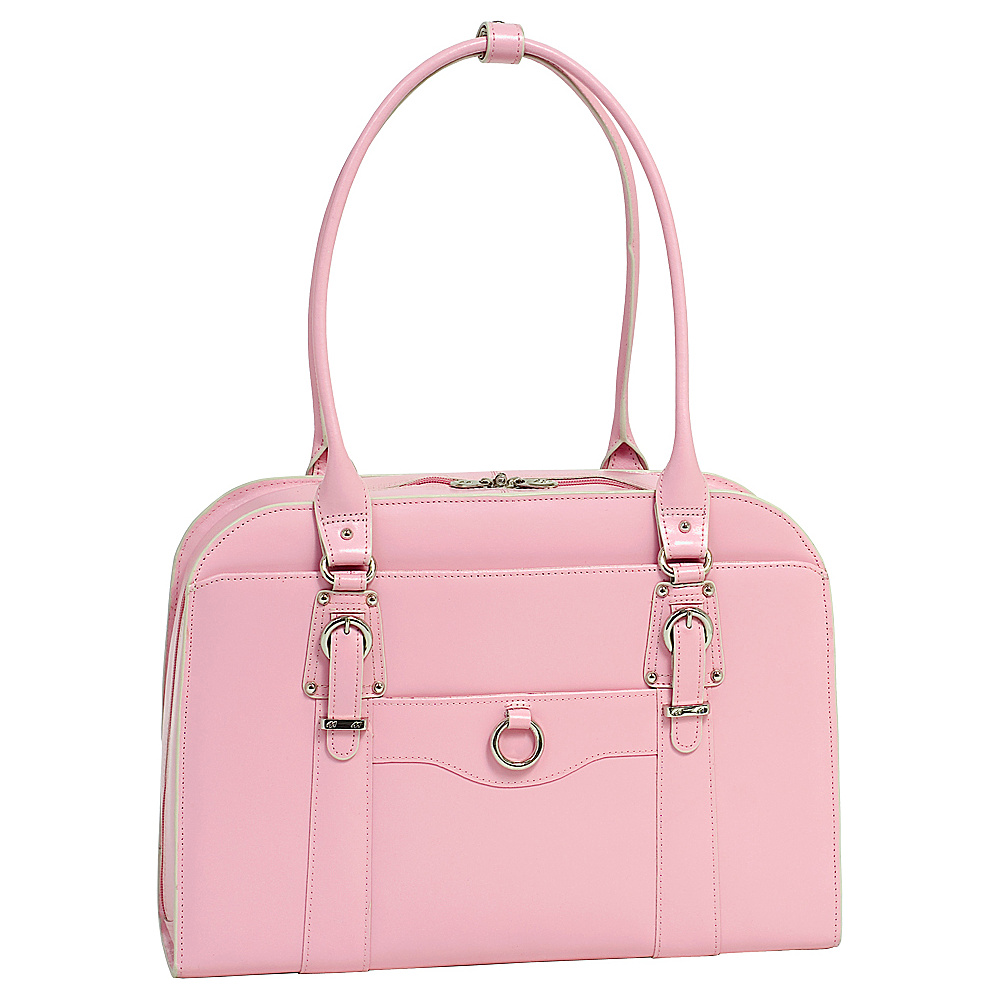McKlein USA W Series Hillside Laptop Tote - Pink - Work Bags & Briefcases, Women's Business Bags