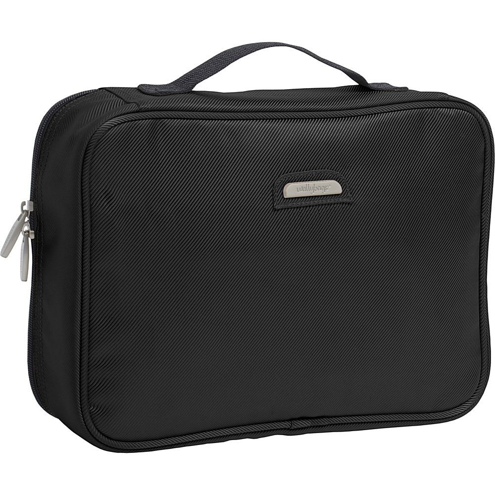 Wally Bags Toiletry Kit - Black - Travel Accessories, Toiletry Kits