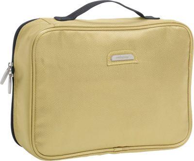 Wally Bags Toiletry Kit Khaki - Wally Bags Toiletry Kits
