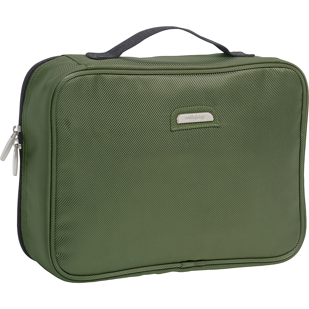 Wally Bags Toiletry Kit Olive Wally Bags Toiletry Kits