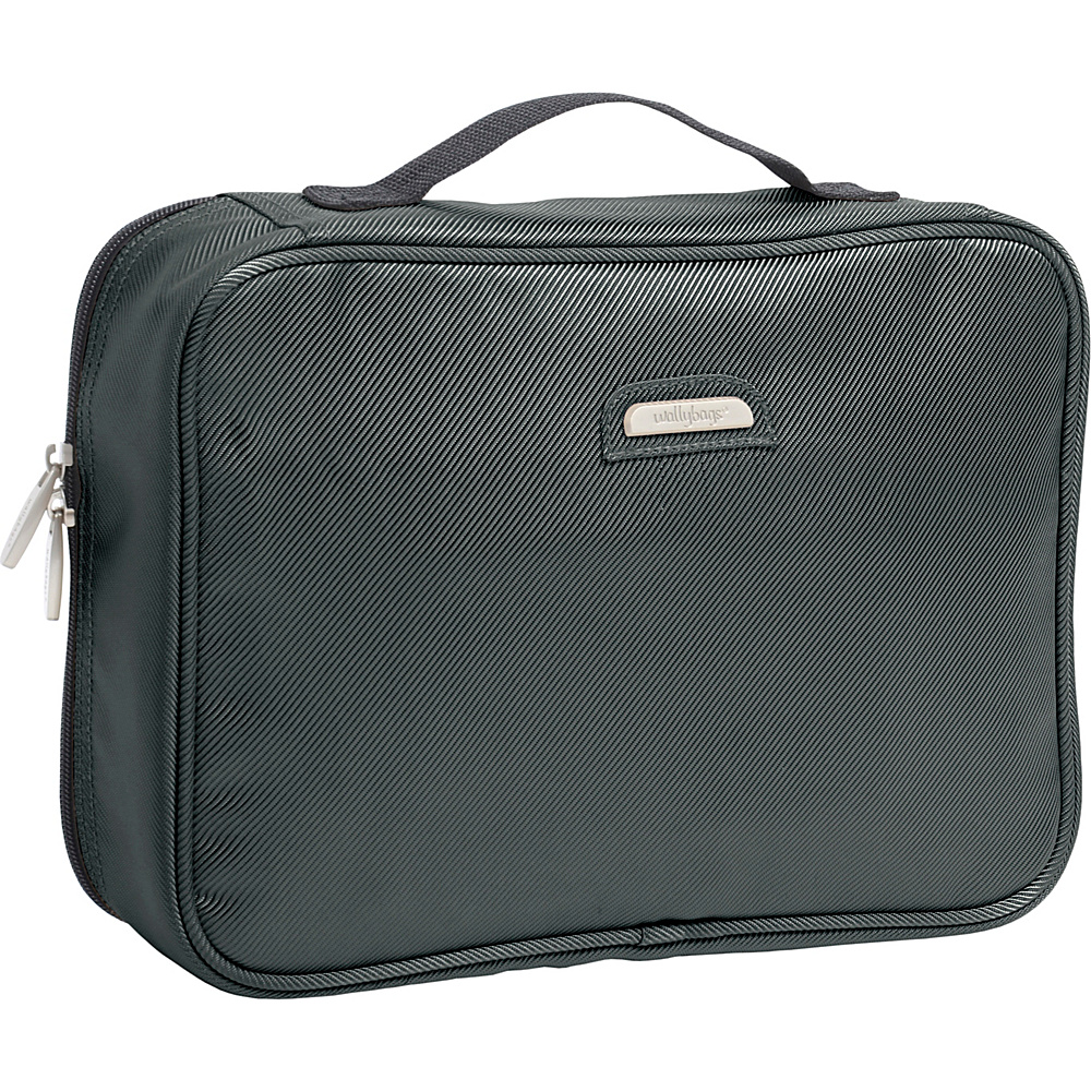 Wally Bags Toiletry Kit Grey Wally Bags Toiletry Kits