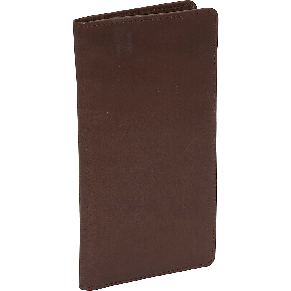 Derek Alexander Mens N/S Breast Pocket Brown - Derek Alexander Men's Wallets