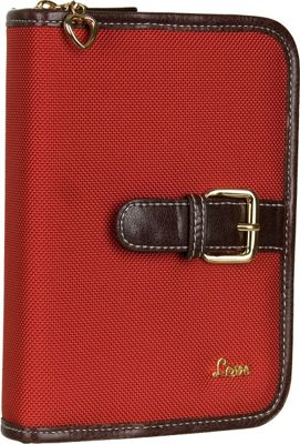 Protec  inchLove inch Compact Book/Bible Cover - Red