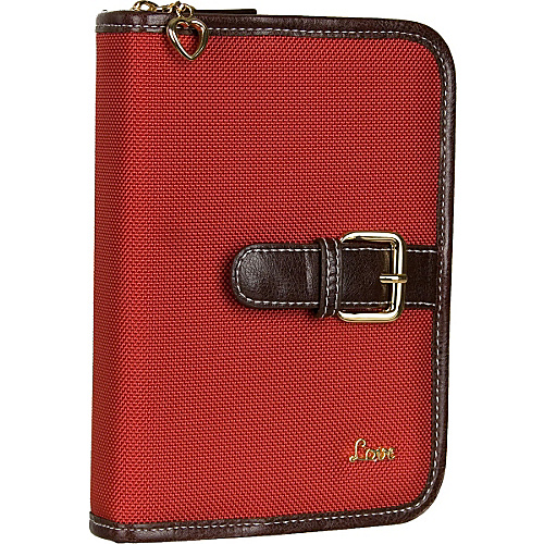 "Protec ""Love"" Compact Book/Bible Cover - Red"