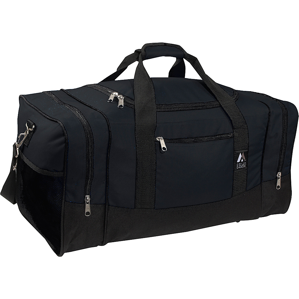 Everest 20 Sporty Gear Bag - Black - Duffels, Gym Duffels
