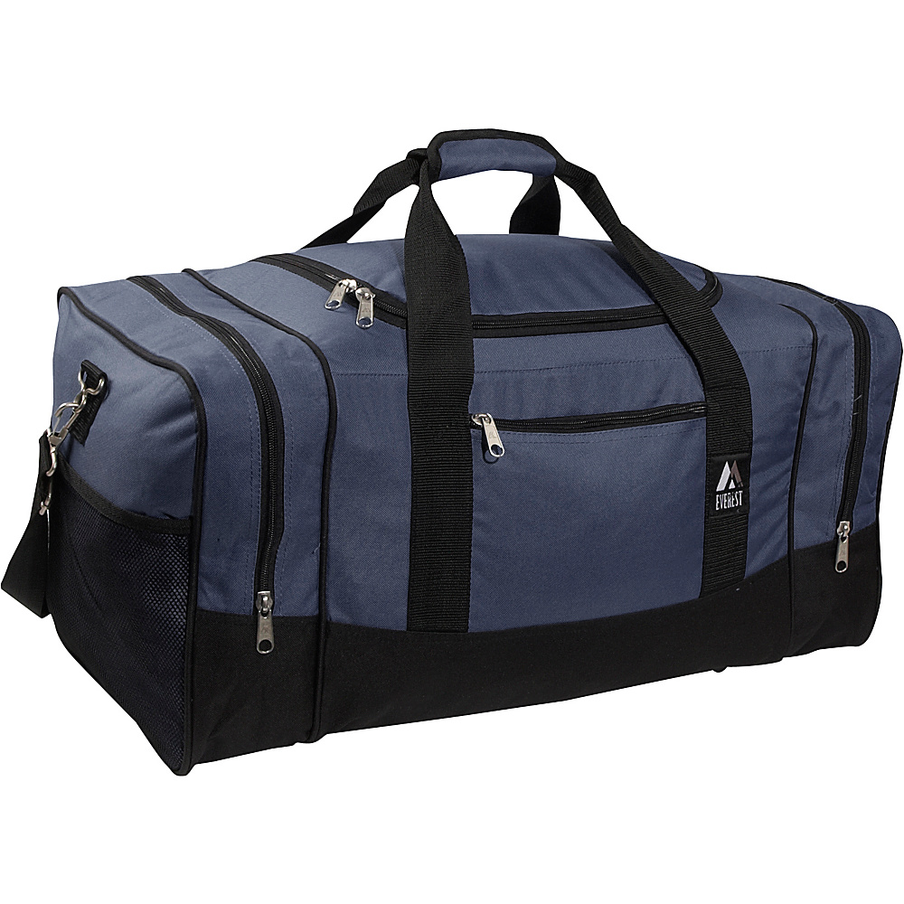 Everest 20 Sporty Gear Bag - Navy/Black - Duffels, Gym Duffels
