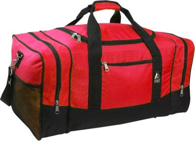 "Everest 20"" Sporty Gear Bag 8 Colors Gym Duffel NEW"