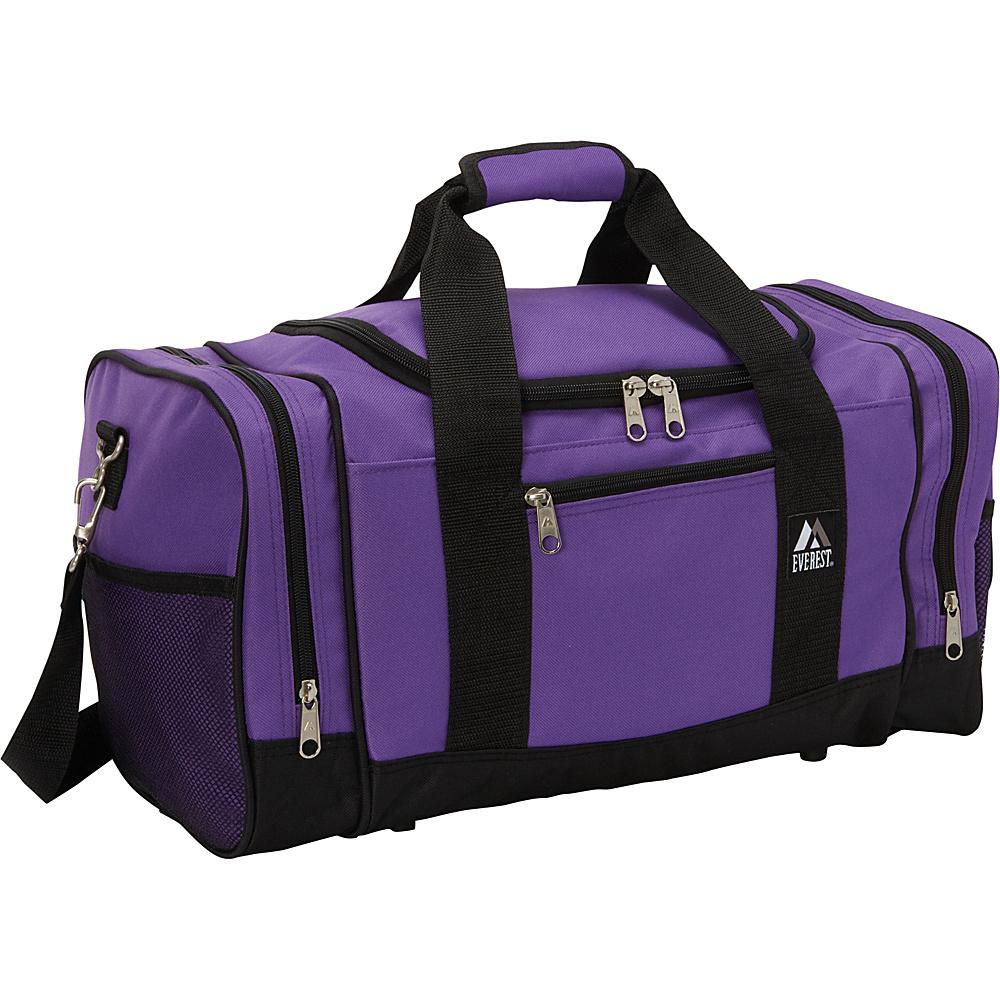 Everest 20 Sporty Gear Bag Dark Purple / Black - Everest Gym Duffels - Duffels, Gym Duffels
