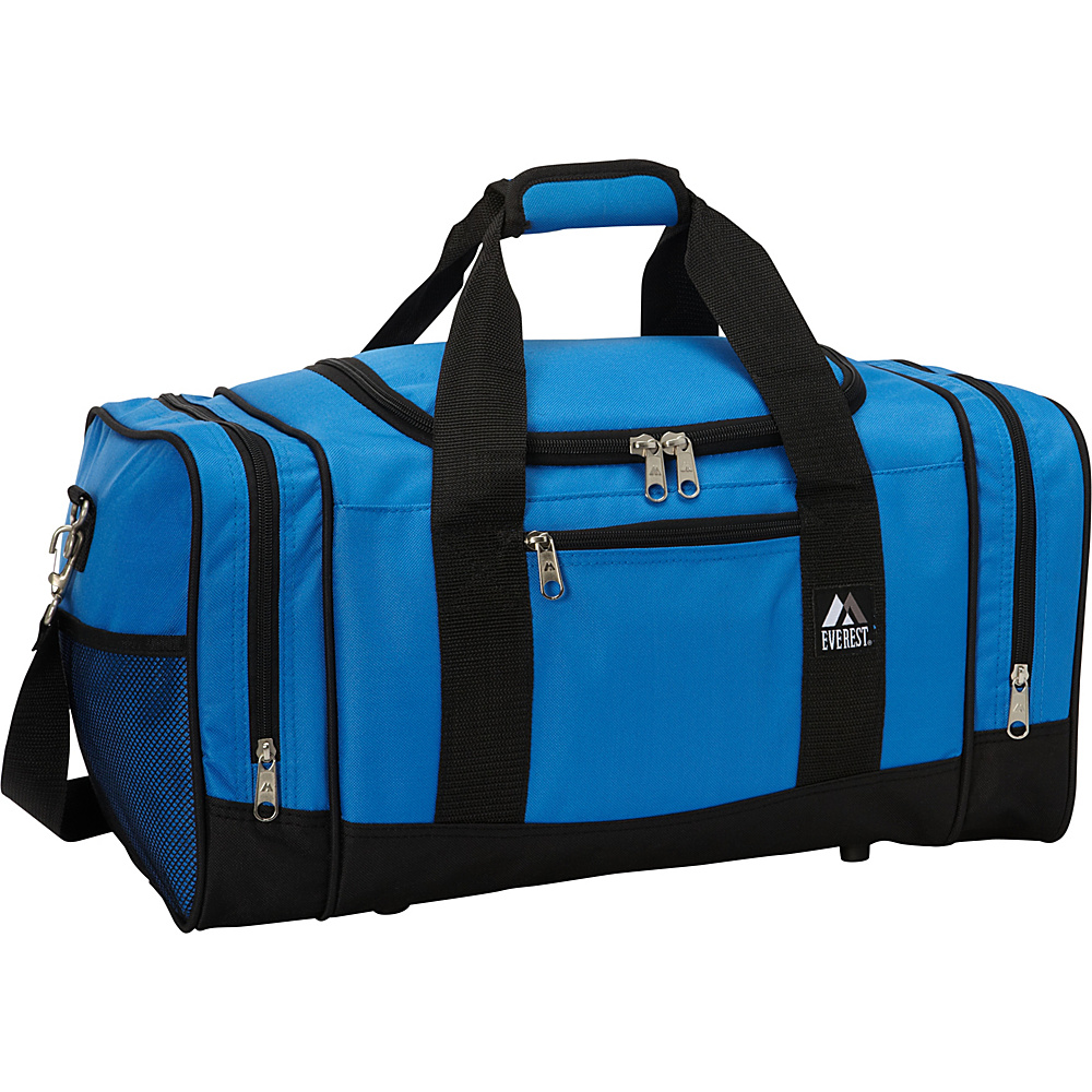Everest 20 Sporty Gear Bag Royal Blue/Black - Everest Gym Duffels - Duffels, Gym Duffels
