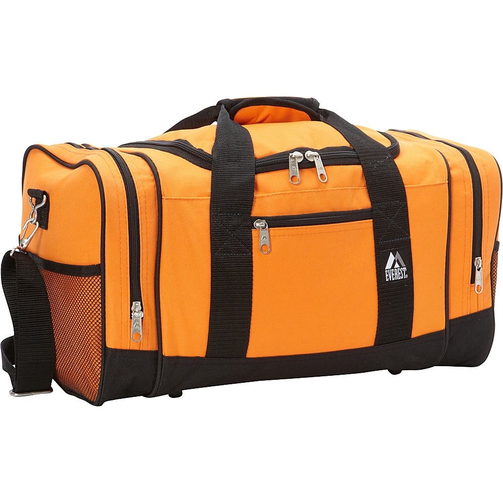 Everest 20 Sporty Gear Bag Orange - Everest Gym Duffels - Duffels, Gym Duffels