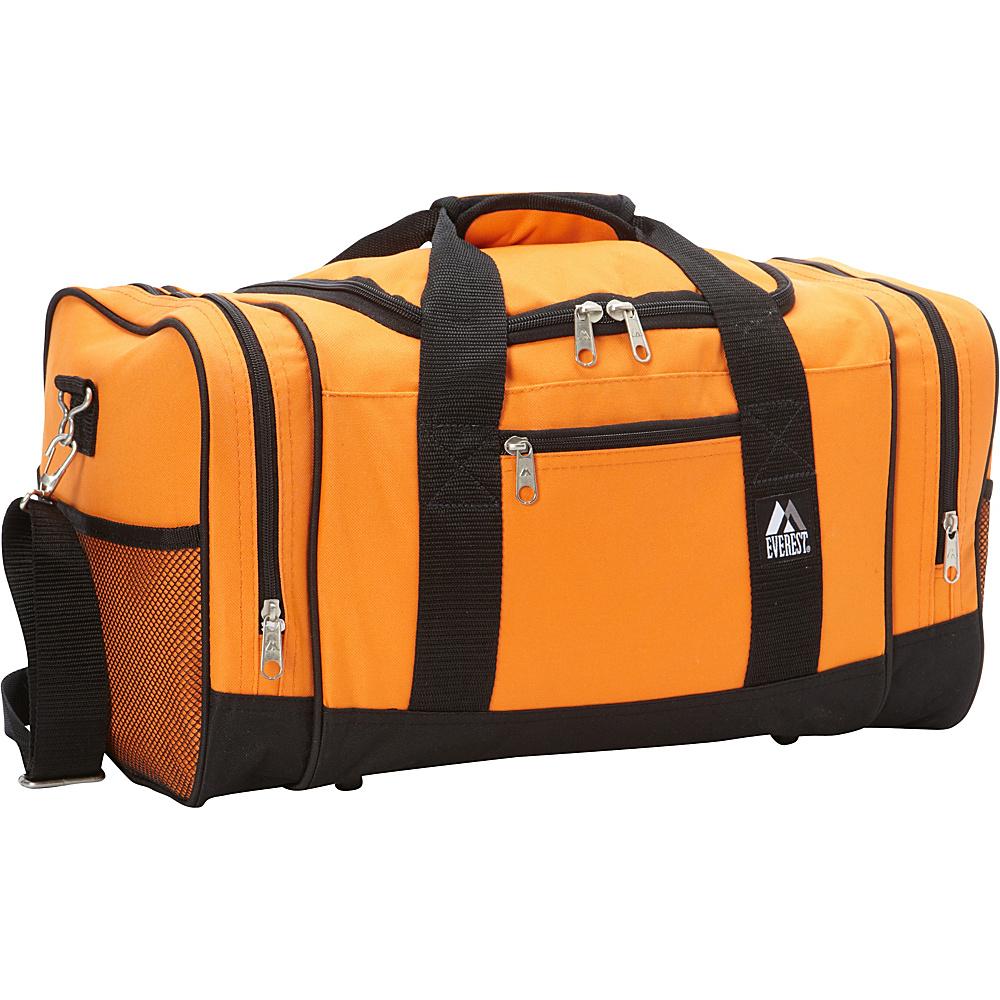 Everest 20 Sporty Gear Bag Orange - Everest Gym Duffels - Duffels, Gym Duffels