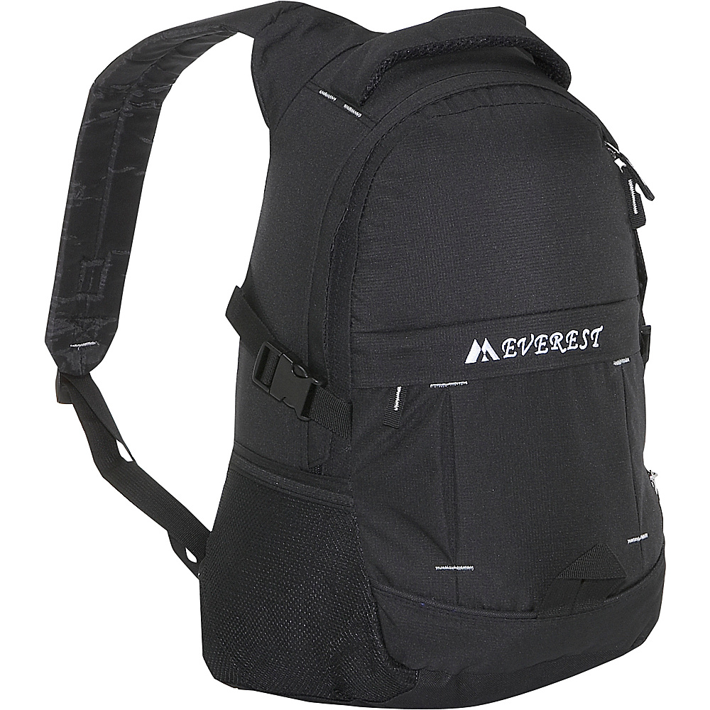 Everest Ripstop Backpack - Black - Backpacks, Everyday Backpacks