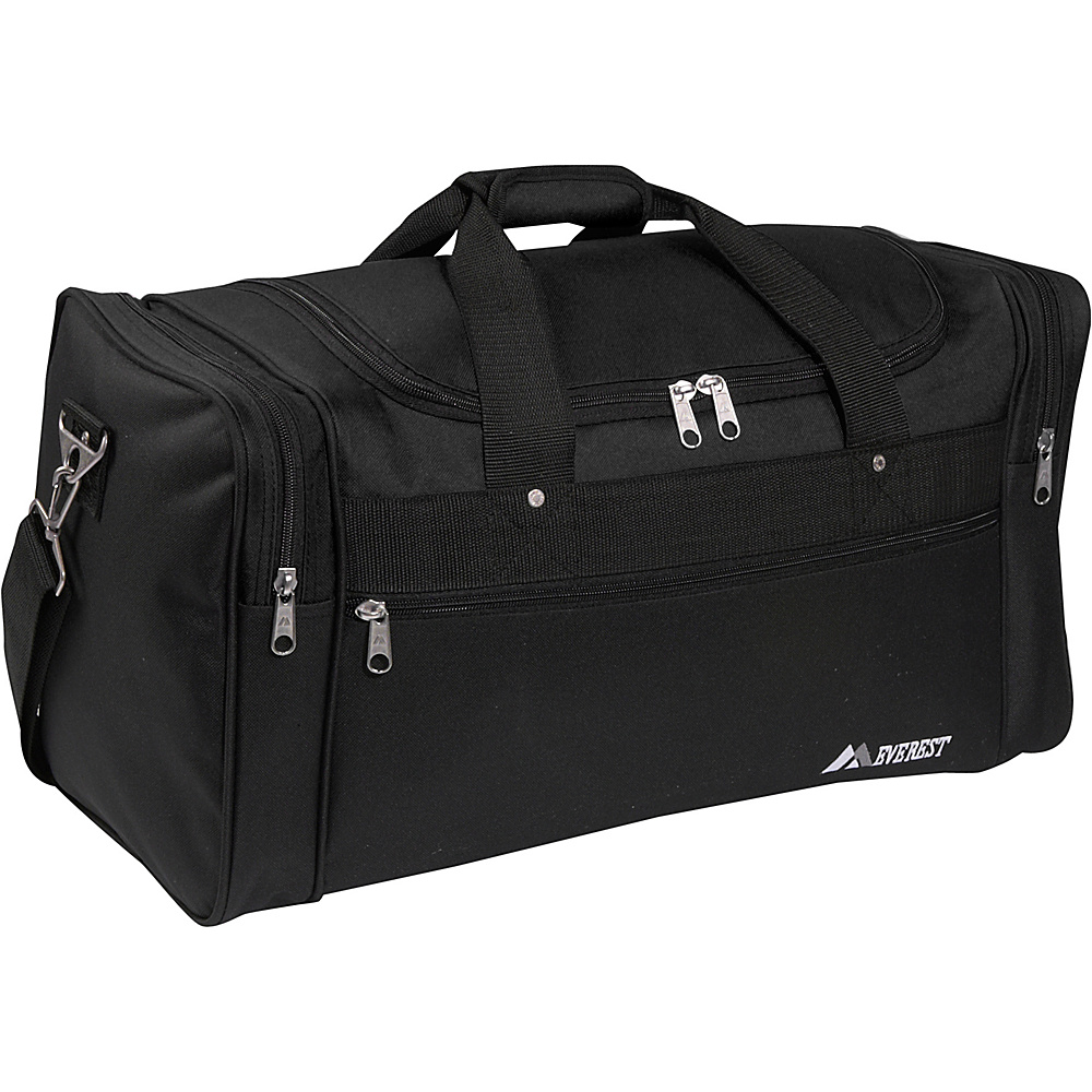Everest 26 Sports Duffel Bag - Black - Duffels, Travel Duffels